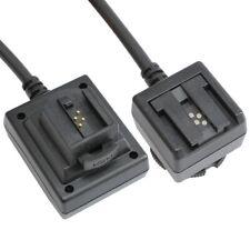 Meike TTL Kabel Blitzkabel passend für alte Sony für Systemblitze und Kamera