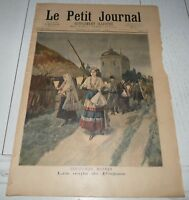 PETIT JOURNAL 1894 COUTUMES RUSSES OEUFS PAQUES RUSSIE / OBSEQUES KOSSUTH MAGYAR