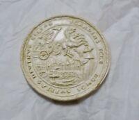 Médaille en plâtre 36 mm.