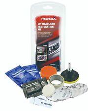 VISBELLA DIY Headlight Restoration Kit, Headlamp Lens Cleaning Tools