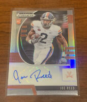 2020 Joe Reed Prizm Collegiate Draft Picks Silver Refractor RC Auto