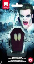 Vestito per Halloween Vampiro Denti Cappellini Zanne & Termico Vestibilità
