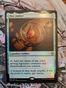 Mox Amber FOIL NM - Dominaria - Magic The Gathering