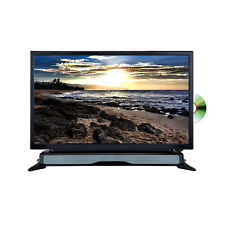 "Axess TVD1804-24 24"" HD TV/DVD Combo with External Soundbar Speaker SD Card"