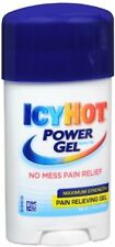 ICY HOT Power Gel Pain Reliever Gel Maximum Strength 1.75 oz (Pack of 7)