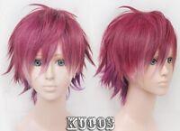 DIABOLIK LOVERS Sakamaki Ayato Anime Cosplay Costume Wig  +Free CAP