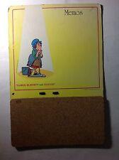 Carol Burnett & Friends Vintage 1970's Promotional Cork Memo Board