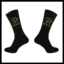 MENS BIRTHDAY, SOCKS, 18TH 21ST 30TH 40TH 50TH 60TH 65TH 70TH,1 PAIR