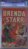 Brenda Starr V2 #9 Superior Pub 1949 CANADIAN EDITION, CGC 7.0 (F/VF)