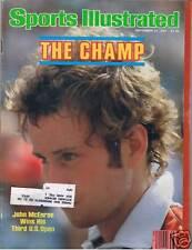 9/21/81 Sports Illustrated - JOHN McENROE cover