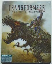 TRANSFORMERS 4 BLUFANS EDITION C 4-DISC BLU-RAY STEELBOOK NEU & OVP LENTICULAR