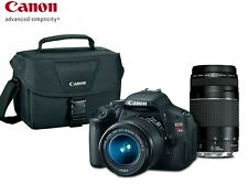 Canon EOS T3i / 600D 18.0 MP SLR Camera With 18-55mm IS II Lens Kit  (2 LENSES)