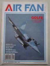 AIR FAN 145 DISSUASION N° 111 SQUADRON RAF PAF 1990 GOLFE DAGUET USAFE FRANCE