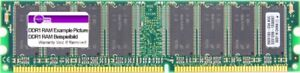 512MB Team DDR1 RAM PC3200U 400MHz CL = 2.5-4-4-8 184-Pin Dimm TVDR512M400C25