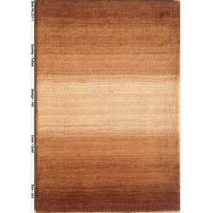 2x3 Modern Hand Tufted Brown/ Beige Rug B-79231