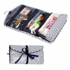 Foldable Cosmetic Makeup Organiser Pouch Case Hanging Toiletry Travel Wash Bag