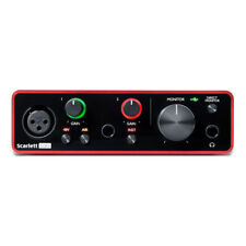 Focusrite Scarlett Solo Compact USB Audio & Recording Interface - 3rd Gen