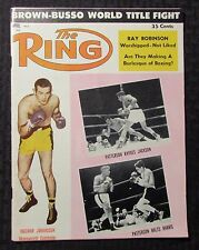 1959 April THE RING Boxing Magazine VG+ 4.5 FLoyd Patterson