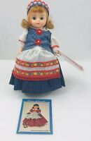 "Madame Alexander 8"" Lithuania Doll #110544 - Original Box Stand"