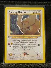 Pokemon Shining Noctowl 1st Edition Holo110/105 Neo Destiny
