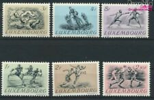 Luxembourg Mi.-number.: 495-500 (complete issue) with hinge 1952 Summe (9408679