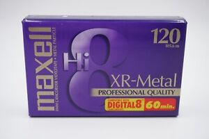 MAXELL RECORDING TAPE HI 8 MM Sony Digital 8 XR-Metal Professional 60 min. NEW