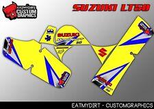 Suzuki LT50 Custom Graphics LT 50 ATV Quad MX Adhesivos Calcomanías