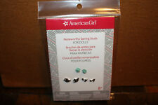 American Girl Earrings set Tenney ,Gabriella, Noteworthy Music EXCLUSIVE SET NEW