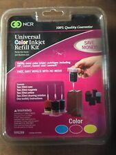 NCR Universal Color Inkjet Refill Kit NIP 2011 999289 For HP Canon Epson Lexmark