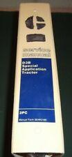 CATERPILLAR D3B SPECIAL APPLICATION TRACTOR DOZER SERVICE REPAIR MANUAL S/N 2PC