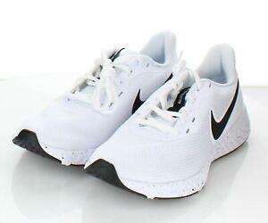 E31 $65 Women's Sz 7.5 M Nike Revolution 5 FlyEase Sneakers In White