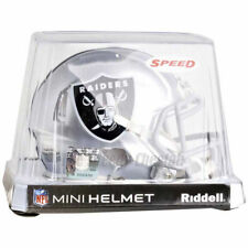 OAKLAND RAIDERS RIDDELL NFL MINI SPEED FOOTBALL HELMET