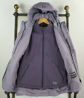 UNDER ARMOUR Womens Medium 3 in 1 ColdGear Infrared Lavender Jacket New $199