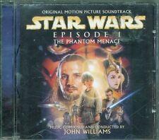 Star Wars Episodio I La Minaccia Fantasma Ost – John Williams Cd Eccellente