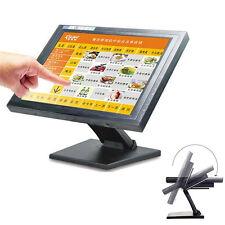 "POS 15"" Touch Screen TFT LED TouchScreen Monitor Restaurant Retail Bar Pub"