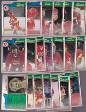 1983 - 84 OPC Team SET Lot of 20 Calgary FLAMES NM+ o-pee-chee NILSSON Lanny