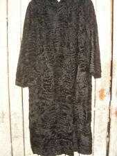 Swakara, Coat, long, black, L/B: 120/60, 2 Stck, 50% Preisreduziert