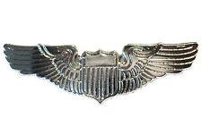 Pilot Wings Aircrew Captains Steward Stewardess Civil or Air Force Metal Badge