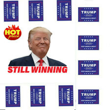 32Pcs Donald Trump Face Clothes Body Sticker 2020 Keep America Great Decals JT