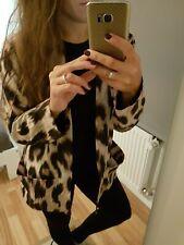 Damen Blazer Jacke Größe S Animalprint