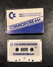 Commodore 64, The Word Machine, The Name Machine, Vintage