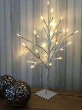 Birch Twig Tree LED Table Light Warm White Indoor Christmas Lamp Home Decor