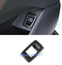 Carbon Fiber Rear Trunk Switch Button Cover Trim For BMW X2 F39 2018-2019
