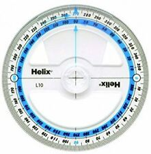 Helix 360 Degree Protractor Angle Measure