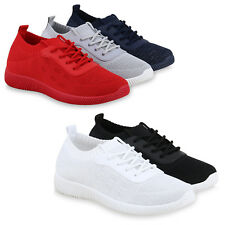 Damen Sportschuhe Laufschuhe Glitzer Strick Turnschuhe Sneaker 825714 Schuhe