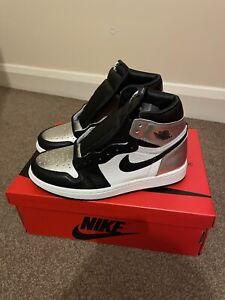 Brand New Nike Jordan 1 Silver Toe. UK 6