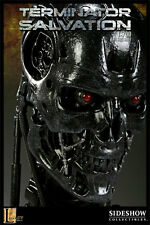 SIDESHOW 1:1 SCALE LIFE-SIZE TERMINATOR T-700 ENDOSKELETON BUST STATUE FIGURE