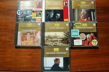 8cd DGG Masters Karajan Anda Berliner Rostropovich Abbado Mahler Bernstein ex+