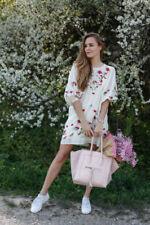 3/4 Sleeve Boho Floral Dresses for Women