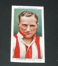 WILLS' CIGARETTES CARD 1935 FOOTBALL N°43 E. J SUGGETT BRADFORD BANTAMS PARADERS